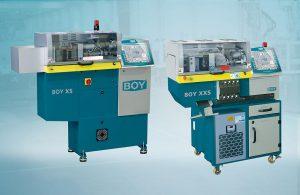Die Kompakten Spritzgießmaschinen Boy XS und Boy XXS sind künftig mit einem größeren Plastifiziervolumen verfügbar. (Foto: Dr. Boy)