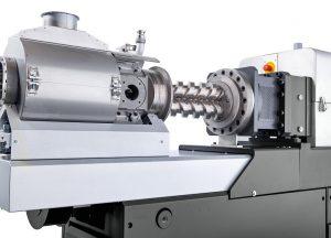 Der schonende und dennoch stringente Druckaufbau in der zweiwelligen, konischen Austragseinheit trägt zur hohen Prozesskonstanz und gleichmäßigen Produktqualität bei. (Foto: Buss)