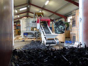Erfolgreiche Integration der Schredder-Schneidmühle Polyplex in den Produktionsprozess beim Validierungskunden MG Plast. (Foto: Hosokawa Alpine)