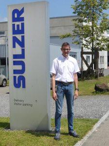 Ronny Graf, Abteilungsleiter Injection-Moulding bei Sulzer am Standort Haag. (Foto: Sulzer/MPDV)