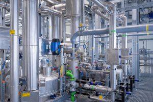 Das Newcycling-Werk in Merseburg hat eine Kapazität von 8.000 t. (Foto: APK)