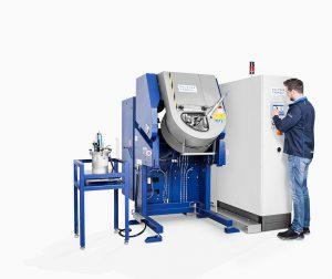 Die neuen Rotamaten werden einschließlich der Abluftfilterung mit einem Touch-Panel bedient. (Foto: Walther Trowal)