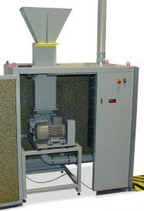 In den Komplettlösungen decken die Folienscheider – hier ein FS 200 – die Prozessstufe der Vorzerkleinerung ab. (Foto: Getecha)