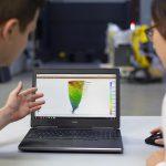 Die Software Correlate wertet gemessene 2D- oder 3D-Daten aus und liefert Informationen über Verschiebungen, Dehnungen und Verformungen von Bauteilen unter Belastungen oder in Bewegung. (Foto: GOM)