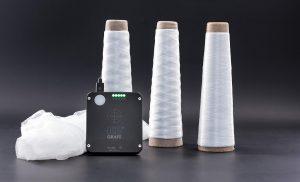 Die per Handmessgerät einfach zu detektierenden Produktschutz-Marker lassen sich auch für Faserprodukte anwenden. (Foto: Grafe)