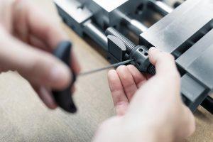 Der Klinkenzug E 1817 ist eine Alternative zu Rund- oder Flachklinkenzügen. (Foto: Meusburger)