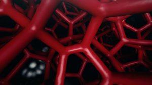 Die 3D-gedruckte Gitterstruktur bestimmt die Härte der Komfortschicht. (Foto: Porsche)