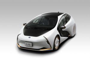 Covestro ist Partner von Toyota für die Entwicklung eines neuen PUR-Verbundmaterials für das neue Elektro-Konzeptfahrzeug LQ. (Foto: Covestro)