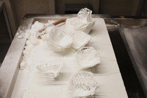 Die Filterträger lässt sich im 3D-Druck herstellen. (Foto: FIT AG/Lisa Kirk)