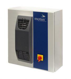 Die Remote Maintenance Box – eine einfache und sichere Lösung für die digitale Wartung und Pflege von Systemsteuerungen. (Foto: Motan)