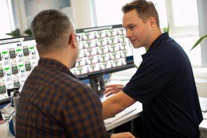 Remote Maintenance erlaubt den digitalen Service aus der Ferne. (Foto: Motan)
