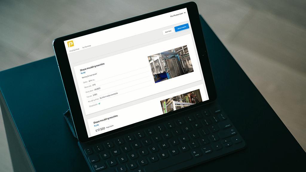 Der Online-Marktplatz pf-community.com bringt Anbieter gebrauchter Partikelschaumanlagen und Kaufinteressenten auf unkomplizierte Weise zusammen. (Foto: Particle Foam Community)
