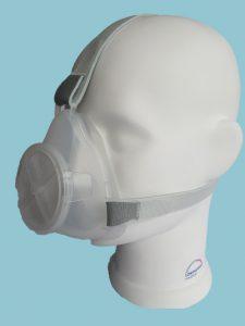 Im Eilverfahren entwickelte Atemschutzmaske. (Foto: Löwenstein Medical)