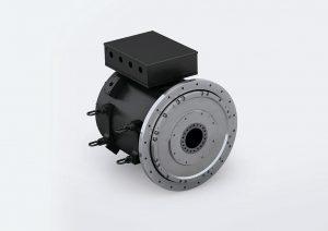 Die Torquemotoren der Reihe DST2 sind jetzt auch in der Baugröße 560 verfügbar und bieten damit ein maximales Drehmoment bis 60.000 Nm. (Foto: Baumüller)