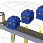 Der neue elektrische Nadeldirektantrieb (Designstudie) soll auf der Fakuma im Herbst vorgestellt werden. (Abb.: Incoe)