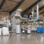 Die hochmoderne 3-Schicht Flachfolienline hat eine Durchsatzleistung von bis zu 3.000 kg/h. (Foto: battenfeld-cincinnati)