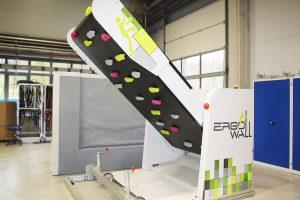 Ergo-Wall – erstes Produkt von ErgoTek für Freizeit und Physiotherapie. (Foto: Wittmann Battenfeld)