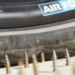 Die Reifen sind leichtgewichtig und elastisch wie ein luftgefüllter Reifen. (Foto: Air Fom)
