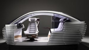 Covestro stellte sein neues Premiumkonzept für den Autoinnenraum der Zukunft vor. (Foto: Covestro)