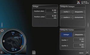 Die neu entwickelte Zahoransky Maschine Intelligence 4.0 (ZMI) bietet dem Werker eine moderne und intuitive Touch-Steuerung. (Abb.: Zahoransky