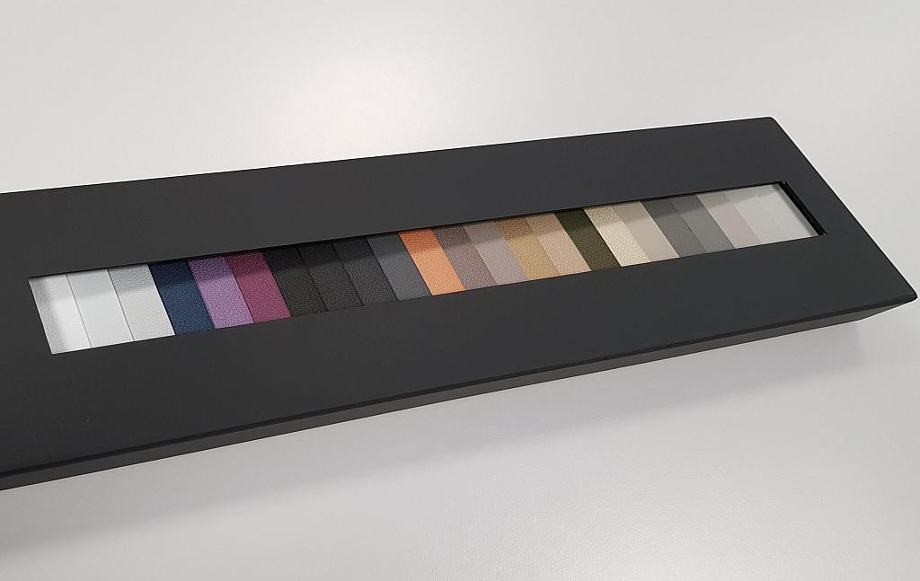 Die neue Farbpalette erweitert die Gestaltungsmöglichkeiten für Autoinnenräume. (Foto: Avient)