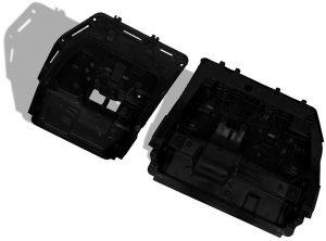 Die neue Sienna-Generation verfügt über die ersten frei stehenden Sitzlehnen in der dritten Reihe. (Foto: BASF)