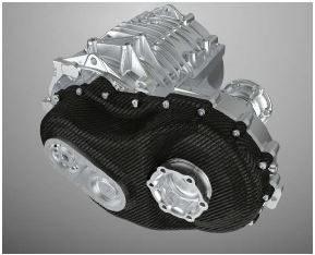 Zusammengebautes Getriebegehäuse im Projekt Future E-Drive. (Foto: Fraunhofer ICT)
