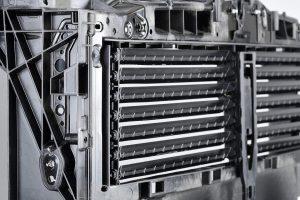 Der Bolster ist auch an den Seiten mit Metalleinlegern verstärkt. (Foto: Lanxess)