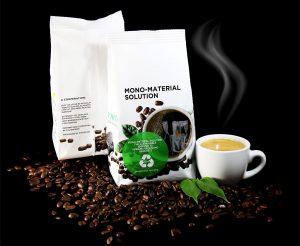 Monomaterialverpackung für Kaffee. (Foto: Polifilm)