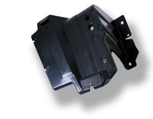 Aerodynamischer Seitenschutz aus Symbio-Verbundwerkstoff aus PP mit 20 % Zellulosefasern, hergestellt von SAPA für FCA Italy. (Foto: Sappi)