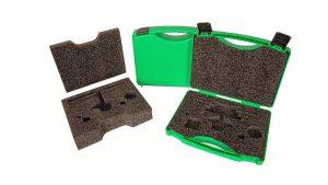 Auch das geschäumte Innenleben der Koffer besteht aus dem Bio-Kunststoff Arboblend. (Foto: W.AG)