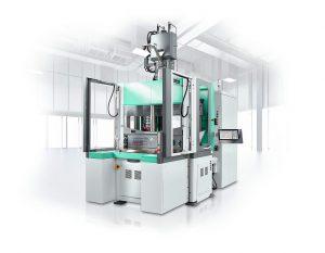 Der neue Allrounder 1300 T bietet mehr Platz für Werkzeuge und ist hinsichtlich Aufstellfläche, Gewicht und Ergonomie optimiert. (Foto: Arburg)