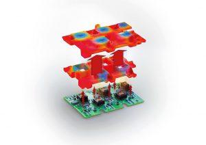 Das Silikon leitet Wärme gut, ist aber gleichzeitig elektrisch isolierend. (Abb.: Freudenberg Sealing Technologies)