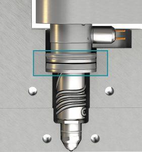 Die MasterShield-Technologie kommt als Standardkomponente bei den Sprint-Heißkanalsystemen zum Einsatz. (Foto: Mold-Masters)