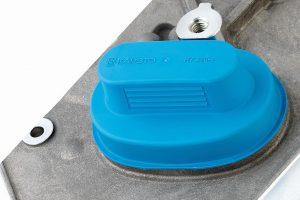 Die Hochvolt-Steckerkappe GPN 384 ist aus 100 % Rezyklat im eingesetzten Kunststoff gefertigt. (Foto: Pöppelmann)