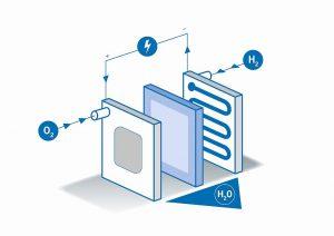 Bei der Herstellung von Membranen für Brennstoffzellen kommt Rotationsstanztechnologie von Schobertechnologies zum Einsatz. (Abb.: Schobertechnologies)