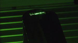 Per Lasermarkierung werden die galvanisierten Oberflächen bedruckbar gemacht. (Foto: Bluhm Systeme)
