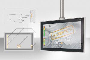 Typische Bedienfunktionen sind direkt ins Frontglas von Touchscreenpanels eingearbeitet und ersetzen Hardware-Elemente wie Funktionstasten und Drehschalter. (Abb.: B&R)