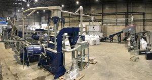 Die Mehrzweckanlage dient dem Waschen und Regranulieren von LDPE und Hartkunststoff wie HDPE/PP. (Foto: Lindner)