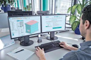 Das Meusburger NX-Tool ermöglicht einen einfachen Konstruktionsprozess. (Foto: Meusburger)