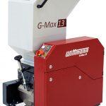 Die Schneidmühle G-Max 13 ist für einen Materialdurchsatz bis 35 kg/h ausgelegt. (Foto: Wittmann)