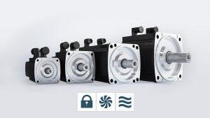 Die Servomotoren-Reihe ist von Baugröße 45 bis Baugröße 132 mit Wasserkühlung verfügbar. (Foto: Baumüller)