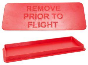 3D-gedruckte Teile aus TPU 58D-AS, das gegen elektrostatische Ladung sicher und in Farbe erhältlich ist. (Fotos: Essentium)