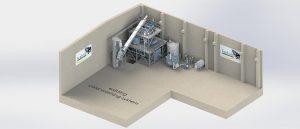 Im Technikum gibt es jetzt eine neue kontinuierliche Heißwäsche in industriellem Maßstab. (Abb.: Herbold)