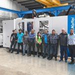 Im Team zum Erfolg: Die neue MX 1000 bei Del Llano Agromercializadora. (Foto: KraussMaffei)