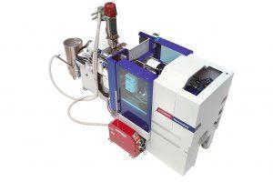 Die kompakte Ingrinder-Zelle ist mit einer integrierten Mühle G-Max 9 ausgestattet. (Foto: Wittmann Battenfeld)