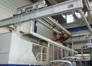 Die KM 5400-32000 MC vor dem Abbau. (Foto: Gindumac)