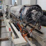 Plastifizierung der KM 5400-32000 MC im abgebauten Zustand. (Foto: Gindumac)