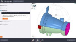 Die Plattform ermöglicht eine schnelle Evaluation von Designs und einzelnen Teilen. (Abb.: Protolabs)
