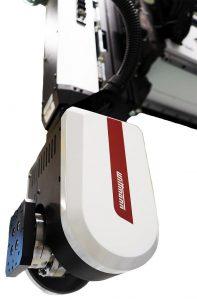 Die A-C-Servodrehachse eröffnet neue Möglichkeiten für Roboter-Automation. (Foto: Wittmann)